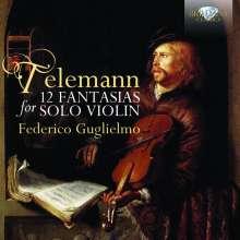Georg Philipp Telemann (1681-1767): 12 Fantasien für Violine solo, CD