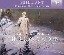 Nikolai Rimsky-Korssakoff (1844-1908): Schneeflöckchen (Snegurotschka), 3 CDs