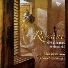 Gioacchino Rossini (1792-1868): Ariettes italiennes für Stimme & Gitarre, CD