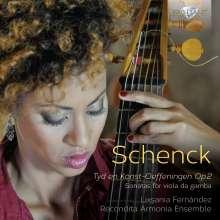 Johannes Schenck (1656-1712): Sonaten für Viola da Gamba, CD
