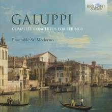 Baldassare Galuppi (1706-1785): Streicherkonzerte - Concerti a quattro Nr.1-6, CD