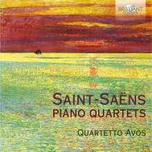 Camille Saint-Saens (1835-1921): Klavierquartette E-Dur & B-Dur op.41, CD