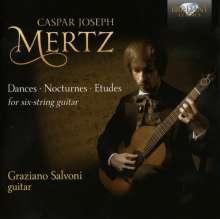 "Johann Kaspar Mertz (1806-1856): Gitarrenwerke Vol.2  ""Dances, Nocturnes, Etudes"", 2 CDs"
