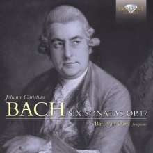Johann Christian Bach (1735-1782): Cembalosonaten op.17 Nr.1-6, CD
