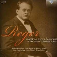 Max Reger (1873-1916): Werke, 11 CDs