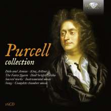 Henry Purcell (1659-1695): Henry Purcell Collection, 16 CDs