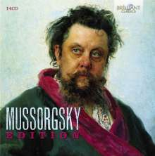 Modest Mussorgsky (1839-1881): Mussorgsky-Edition, 14 CDs