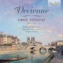 Francois Devienne (1759-1803): Sonaten für Oboe & Klavier op.71 Nr.1-3, CD