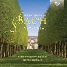 Wilhelm Friedemann Bach (1710-1784): Symphonien F.64 in D,F.65 in d,F.67 in F, CD