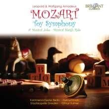 "Leopold Mozart (1719-1787): Cassatio ex G ""Kindersymphonie"", CD"