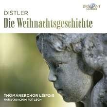 Hugo Distler (1908-1942): Die Weihnachtsgeschichte op.10, CD