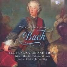 Wilhelm Friedemann Bach (1710-1784): Flötensonaten & Flötentrios, CD