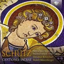 """Heinrich Schütz (1585-1672): Geistliche Chormusik """"Cantiones Sacrae"""", 5 CDs"""