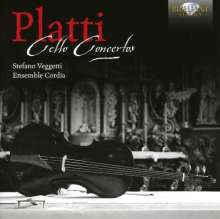 Giovanni Benedetto Platti (1697-1763): Cellokonzerte, CD