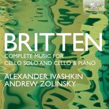 Benjamin Britten (1913-1976): Sämtliche Werke für Cello und Cello & Klavier, 2 CDs