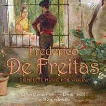 Frederico de Freitas (1902-1980): Kammermusik für Violine, CD