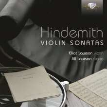 Paul Hindemith (1895-1963): Sonaten für Violine & Klavier, CD