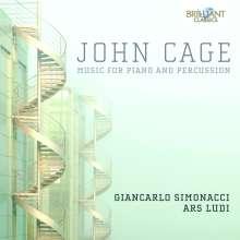 John Cage (1912-1992): Werke für Klavier & Percussion, 2 CDs