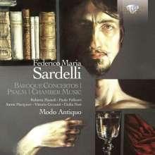 Federico Maria Sardelli (geb. 1963): Barockkonzerte, CD