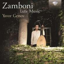 Giovanni Zamboni (1664-1721): Sonate d'Intavolatura di Leuto Nr.1, 3, 5, 8-11, CD
