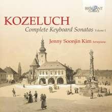 Leopold Kozeluch (1747-1818): Sämtliche Sonaten für Tasteninstrumente Vol.1, 2 CDs