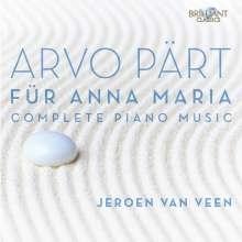 Arvo Pärt (geb. 1935): Für Anna Maria - Sämtliche Klavierwerke, 2 CDs