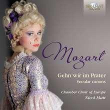 Wolfgang Amadeus Mozart (1756-1791): Kanons, CD
