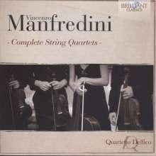 Vincenzo Manfredini (1737-1799): Streichquartette Nr.1-6, CD