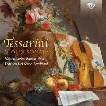 Carlo Tessarini (1690-1766): Sonaten für Violine & Cembalo, CD