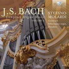 Johann Sebastian Bach (1685-1750): Sämtliche Orgelwerke Vol.2, 4 CDs