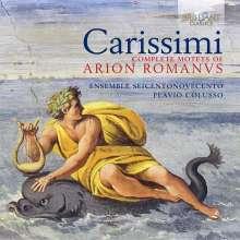 Giacomo Carissimi (1605-1674): Motetten aus Arion Romanus, 3 CDs