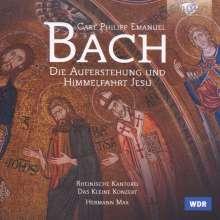 Carl Philipp Emanuel Bach (1714-1788): Auferstehung und Himmelfahrt Jesu (Oratorium Wq.240), 2 CDs