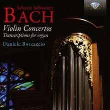 Johann Sebastian Bach (1685-1750): Violinkonzerte BWV 1041-1043 (arrangiert für Orgel), CD