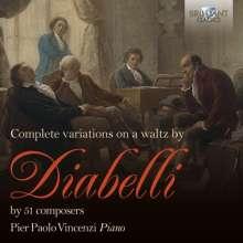 Pier Paolo Vincenzi - Diabelli, 2 CDs
