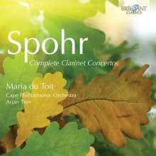 Louis Spohr (1784-1859): Klarinettenkonzerte Nr.1-4, 2 CDs