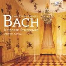 Carl Philipp Emanuel Bach (1714-1788): Sinfonias für Cembalo Wq.122 Nr.1-3, CD
