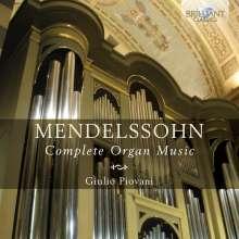Felix Mendelssohn Bartholdy (1809-1847): Sämtliche Orgelwerke, 3 CDs