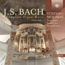 Johann Sebastian Bach (1685-1750): Sämtliche Orgelwerke Vol.1, 4 CDs
