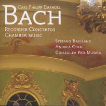 Carl Philipp Emanuel Bach (1714-1788): Flötenkonzert Wq.22, CD