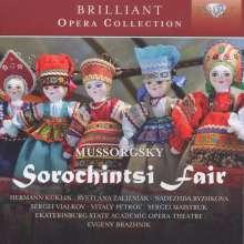 Modest Mussorgsky (1839-1881): Der Jahrmarkt von Soroschintsy, 2 CDs