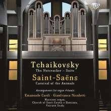 Peter Iljitsch Tschaikowsky (1840-1893): Der Nußknacker-Suite op.71a (arr. für Orgel 4-händig), CD