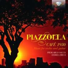 """Astor Piazzolla (1921-1992): Werke für Violine & Gitarre """"Cafe 1930"""", CD"""