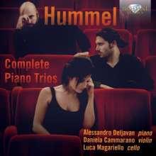 Johann Nepomuk Hummel (1778-1837): Sämtliche Klaviertrios, 2 CDs