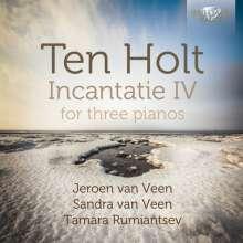 Simeon ten Holt (1923-2012): Incantatie IV für 3 Klaviere, 2 CDs