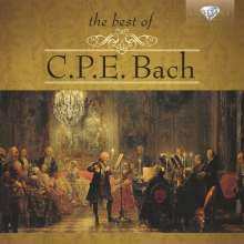 Carl Philipp Emanuel Bach (1714-1788): The Best of C.P.E. Bach, 2 CDs