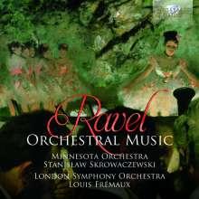 Maurice Ravel (1875-1937): Orchesterwerke, 2 CDs