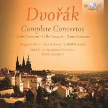 Antonin Dvorak (1841-1904): Klavierkonzert op.33, 2 CDs