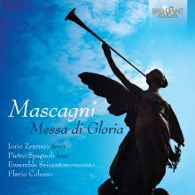Pietro Mascagni (1863-1945): Messa di Gloria, CD
