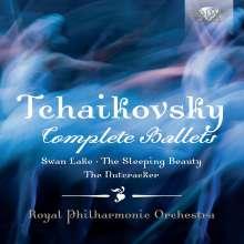 Peter Iljitsch Tschaikowsky (1840-1893): Die 3 Ballette, 6 CDs