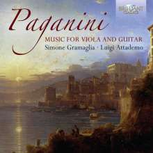 Niccolo Paganini (1782-1840): Werke für Viola & Gitarre, CD